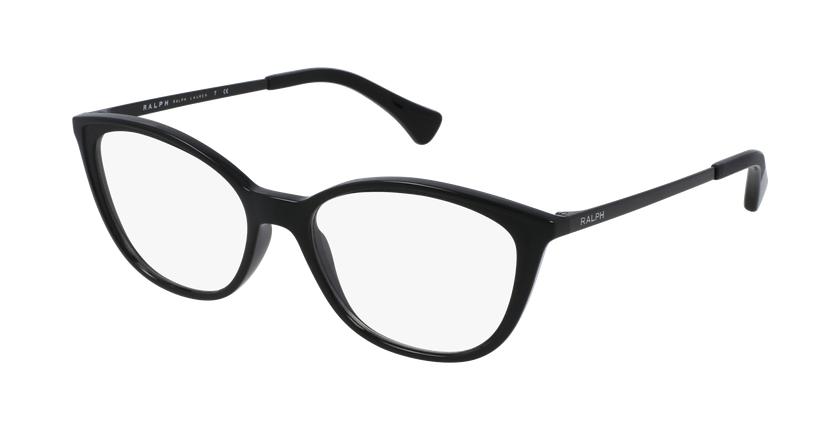 Gafas graduadas mujer RA7114 negro/negro - vue de 3/4