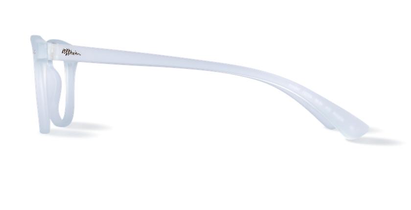 Gafas graduadas BLUE BLOCK UNISEX transparente - vista de lado