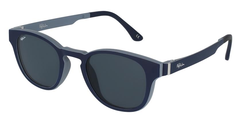 Gafas graduadas hombre MAGIC 03 azul/gris - vue de 3/4