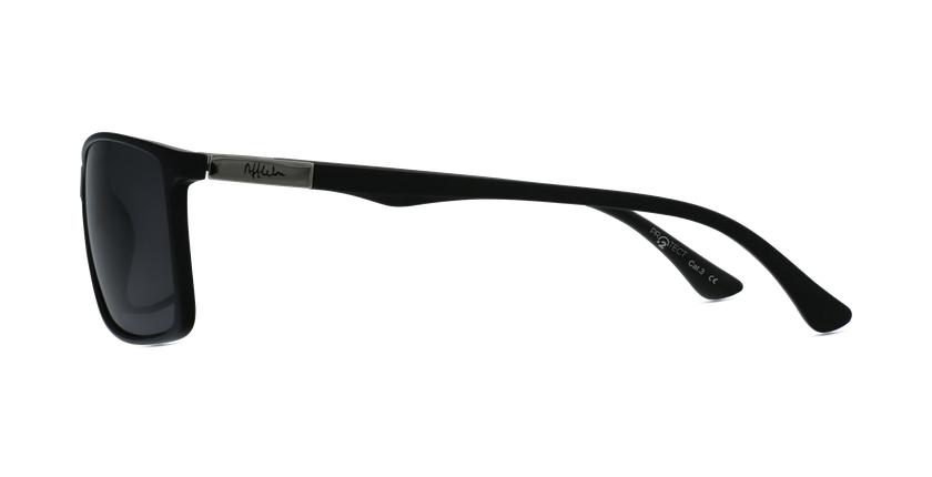 Gafas de sol hombre SHAUN POLARIZED negro - vista de lado