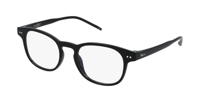 Gafas graduadas niños MAGIC 50 BLUEBLOCK negro - vue de 3/4