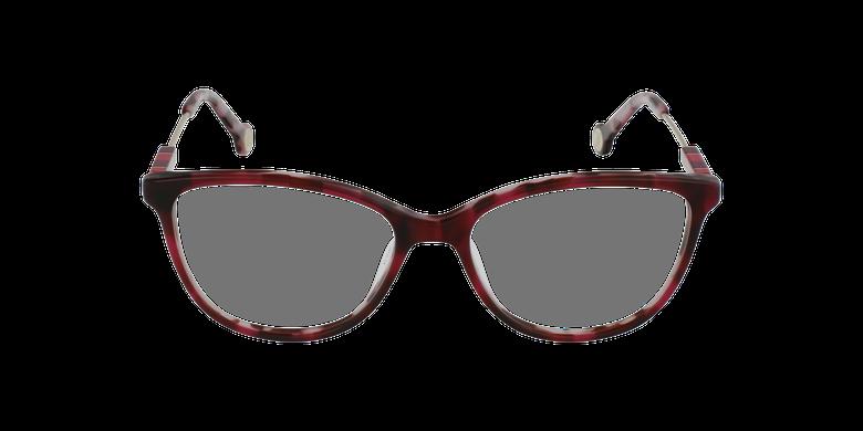 Gafas graduadas mujer VHE847L rojo/careyvista de frente