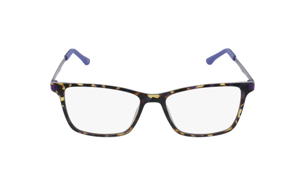Gafas graduadas mujer MAGIC 61 BLUEBLOCK carey/morado - vista de frente