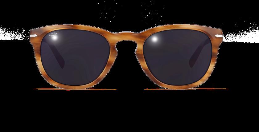 Gafas de sol hombre WAKEFIELD marrón - vista de frente