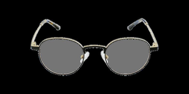 Gafas graduadas MAGIC 70 negro/doradovista de frente