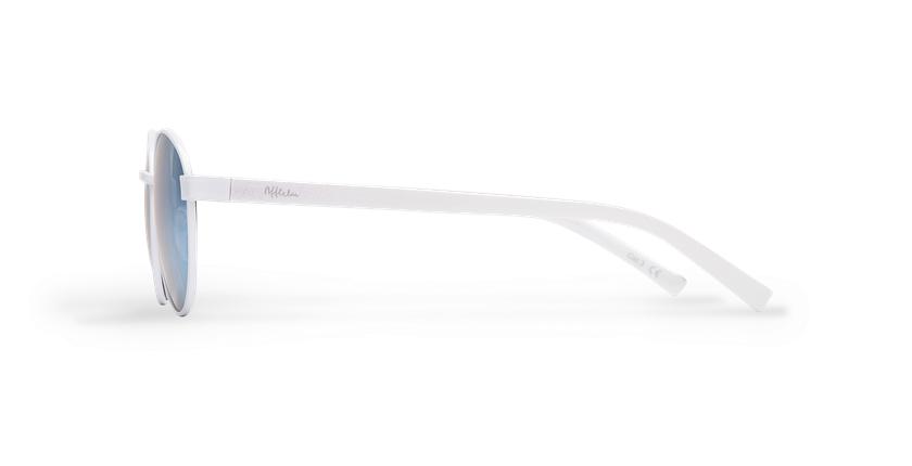 Gafas de sol mujer TUTTI blanco - vista de lado
