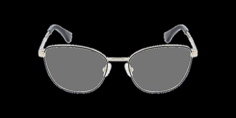 Gafas graduadas mujer RA6046 negro/doradovista de frente