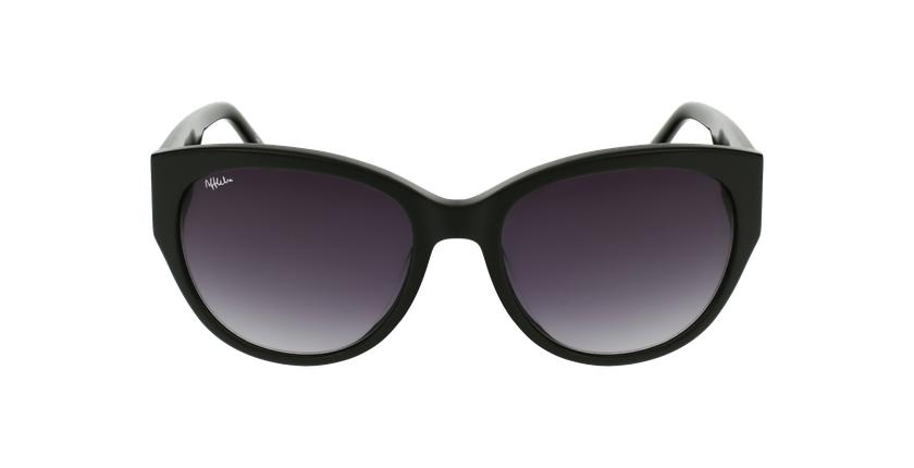 Gafas de sol mujer AMELIE negro - vista de frente