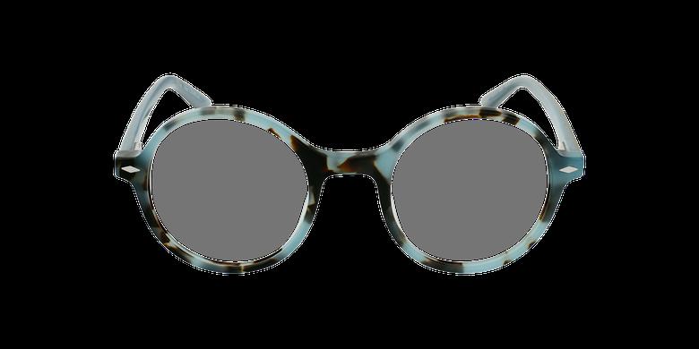 Gafas graduadas CAMELIA carey/azulvista de frente