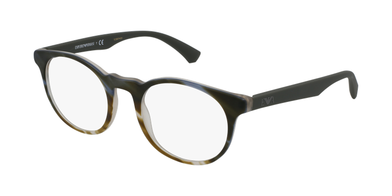 Gafas graduadas hombre EA 3156 verde/carey