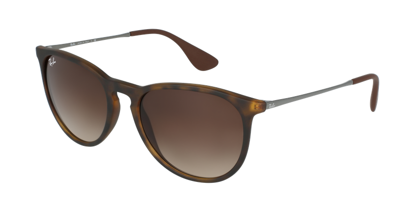Gafas de sol ERIKA negro/marrón - vue de 3/4