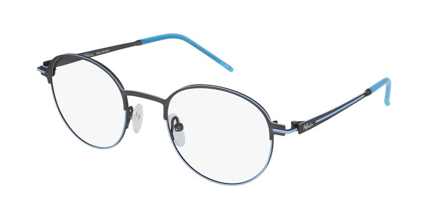 Gafas graduadas MARS azul/gris - vue de 3/4