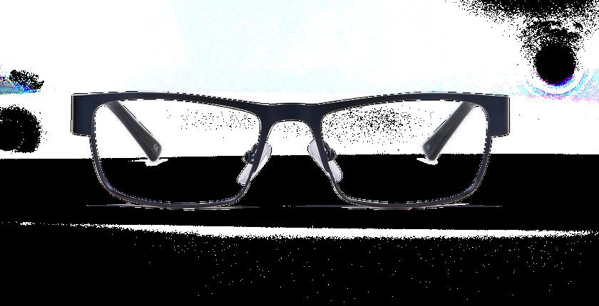 Gafas graduadas hombre ALLAN azul - vista de frente