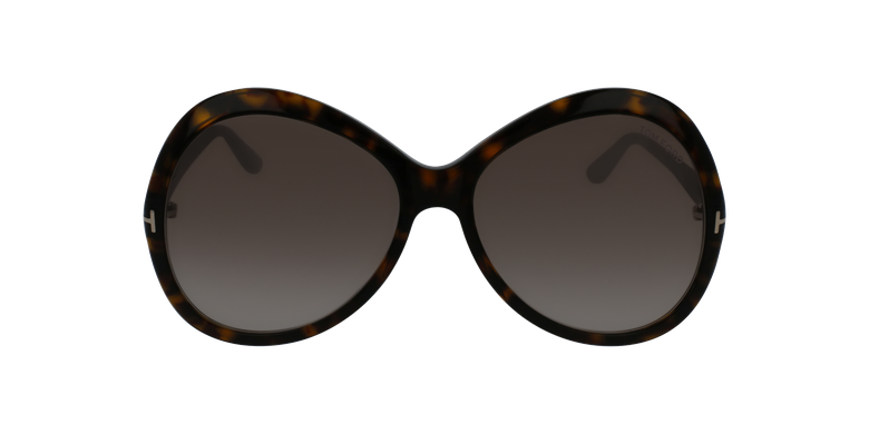 Gafas de sol mujer ROSE marrónvista de frente