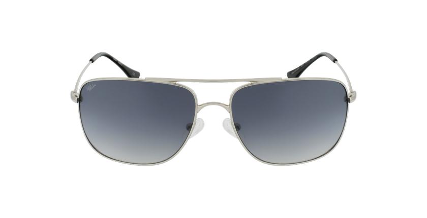 Gafas de sol hombre VILADA plateado - vista de frente