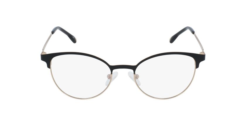 Gafas graduadas mujer MAGIC 54 BLUEBLOCK negro/dorado - vista de frente