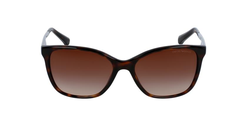 Gafas de sol mujer 0EA4025 marrón - vista de frente