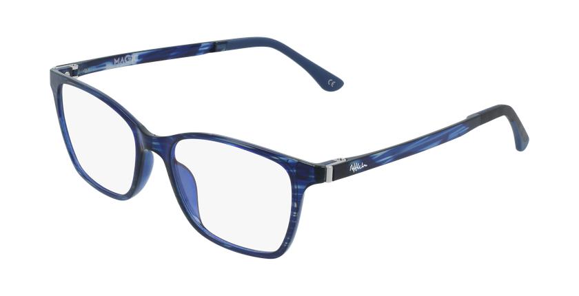 Gafas graduadas mujer MAGIC 60 BLUEBLOCK azul/morado - vue de 3/4