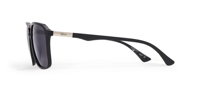 Gafas de sol hombre TAVERIO POLARIZED negro - vista de lado