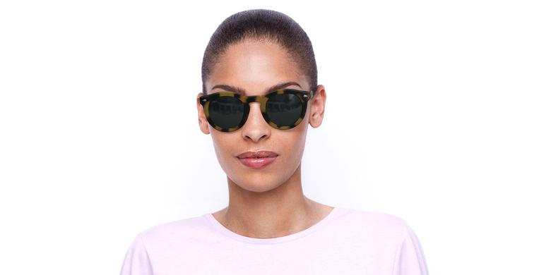 Gafas de sol mujer ANNE carey/verde