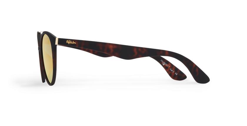 Gafas de sol mujer ANDRES POLARIZED carey - vista de lado