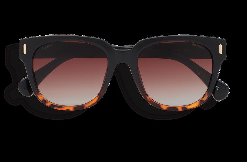 Gafas de sol mujer MONOI POLARIZED negro/carey - danio.store.product.image_view_face