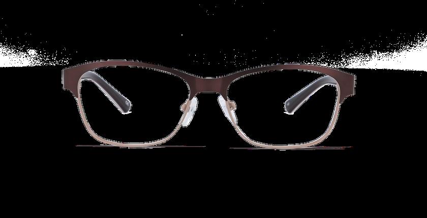 Gafas graduadas mujer ARIANE marrón - vista de frente