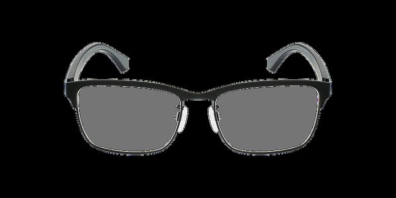 Gafas graduadas hombre EA 1098 negro/negrovista de frente