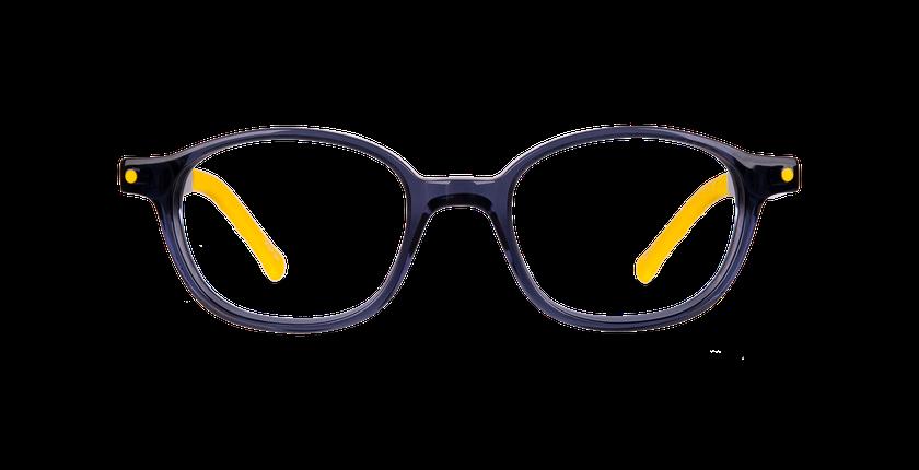 Gafas graduadas niños CARL1 azul/amarillo - vista de frente