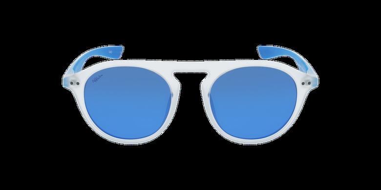 Gafas de sol BORNEO blanco/azulvista de frente