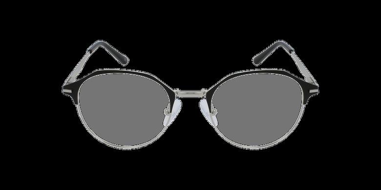 Gafas graduadas mujer OAF20524 negro/plateadovista de frente