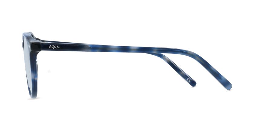 Gafas graduadas niños MAE azul - vista de lado
