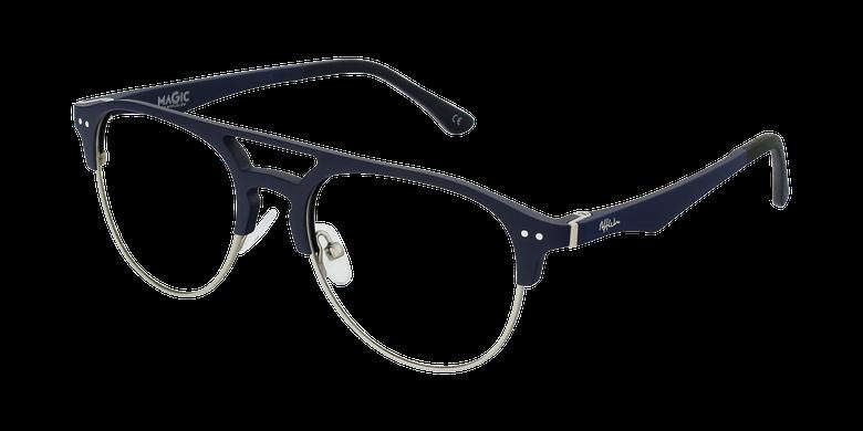 Gafas graduadas hombre TMG91 azul/plateado