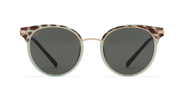 Gafas de sol mujer BARCELO verde/carey - danio.store.product.image_view_face