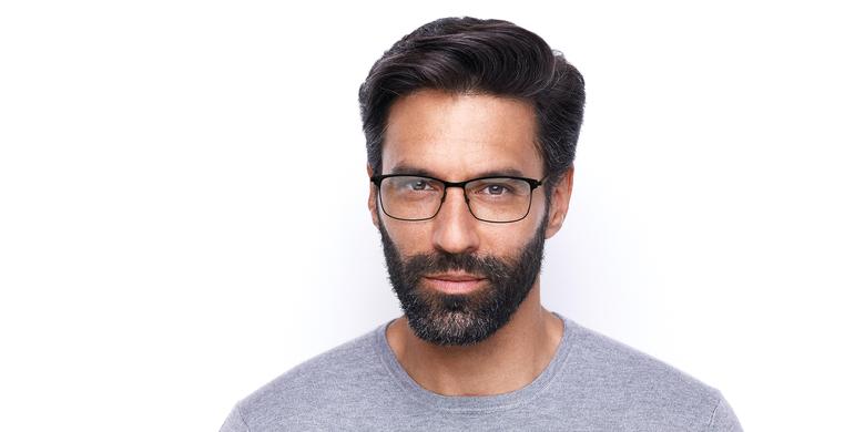 Gafas graduadas hombre CORENTIN negro/gris