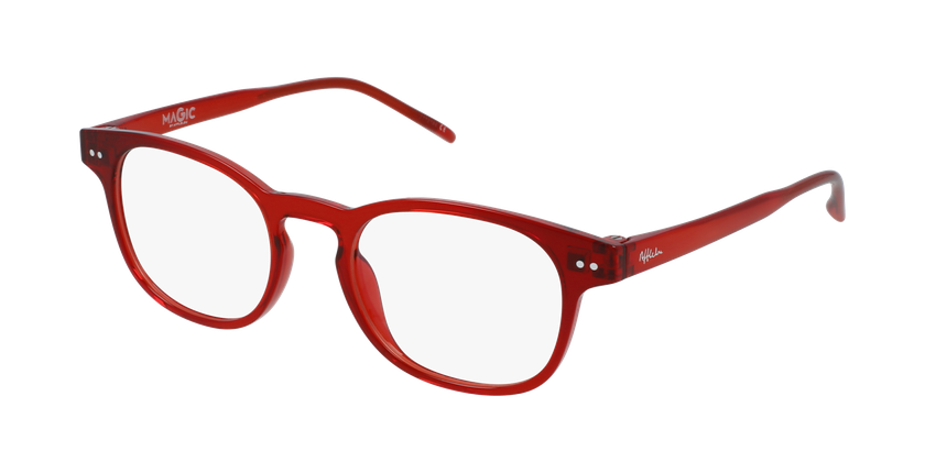 Gafas graduadas niños MAGIC 50 BLUEBLOCK rojo - vue de 3/4