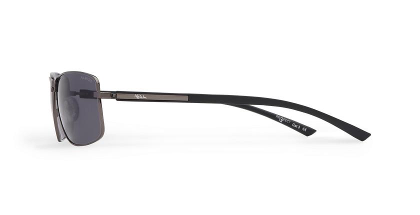 Gafas de sol hombre ONATI POLARIZED gris/negro - vista de lado
