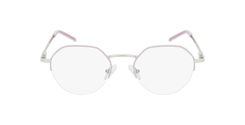 Gafas graduadas mujer LAM rosa/dorado - vista de frente