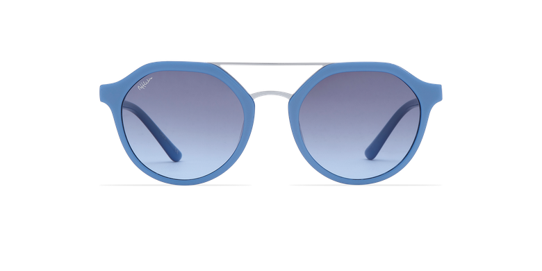 Gafas de sol mujer KYLIE azulvista de frente