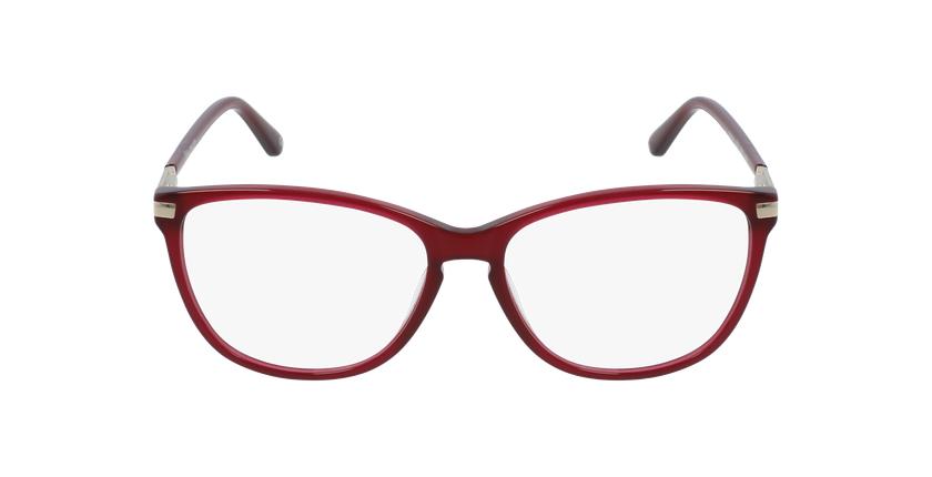 Gafas graduadas mujer OAF20520 rojo - vista de frente