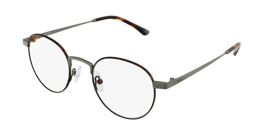 Gafas graduadas MAGIC 70 carey/plateado - vue de 3/4