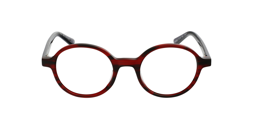 Gafas graduadas mujer OAF21619 rojo - vista de frente