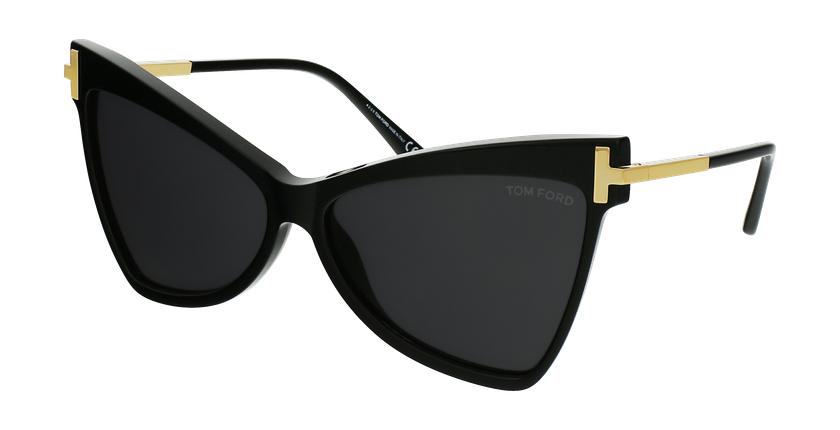 Gafas de sol mujer TALLULAH negro - vista de frente