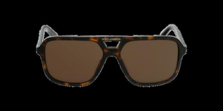 Gafas de sol hombre DG4354 carey/marrónvista de frente