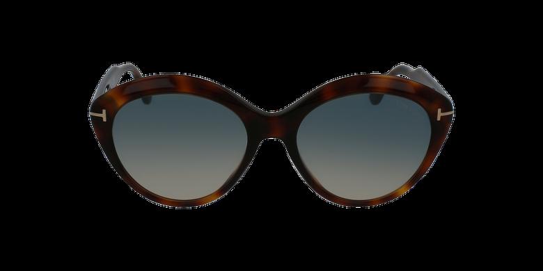 Gafas de sol mujer MAXINE marrónvista de frente
