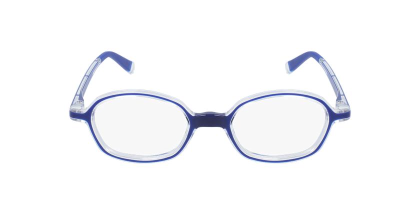 Gafas graduadas niños RFOM2 azul - vista de frente
