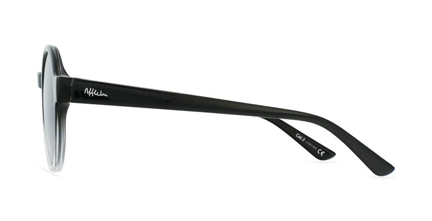 Gafas de sol mujer CHACHA negro - vista de lado
