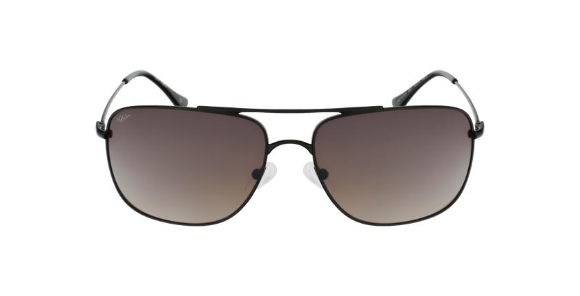 Gafas de sol hombre VILADA negro - vista de frente
