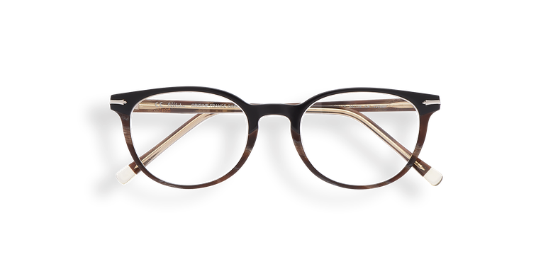 Gafas graduadas mujer NANTUA negro/marrón
