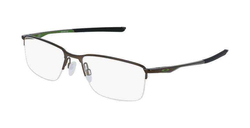 Gafas graduadas hombre OX3218 plateado - vue de 3/4